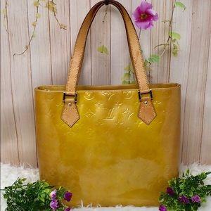 Authentic Louis Vuitton Vernis Houston Totes Bag